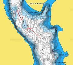 lake pleasant map lake pleasant fishery improvement page 2 azbz forums