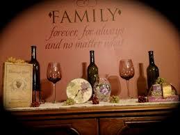 interior design creative wine theme kitchen decor small home