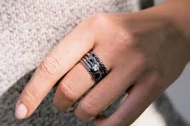 black rings women images Black gold engagement rings for womenengagement rings engagement jpg