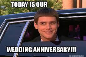Wedding Anniversary Meme - meme maker today is our wedding anniversary