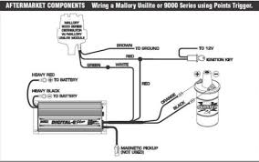 mallory 6a ignition wiring diagram mallory distributor firing