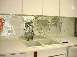 mirrored tile backsplash great home decor stunning with mirror