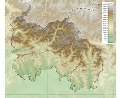 Physical Map Of South Asia by Maps Of South Ossetia Detailed Map Of South Ossetia In English
