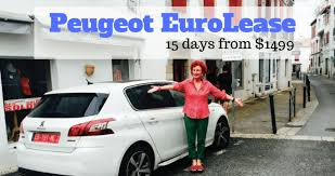 peugeot car hire europe peugeot eurolease the cheapest way for car leasing in europe the