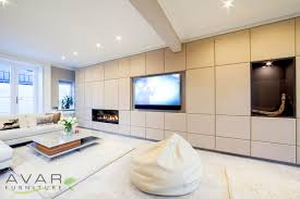 Fitted Living Room Furniture Modern Entertainment Unit Modern Living Room By