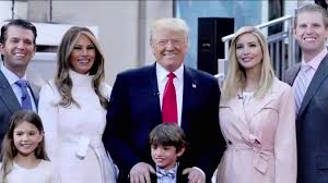 donald trump family electing donald trump means bringing along his family wapo reporter