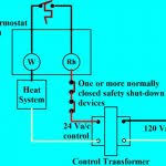 honeywell heat only thermostat wiring 2 wire thermostat wiring