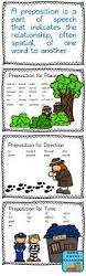 parts of speech prepositions free printable learning english