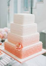 peach ombre wedding cake peach ombre wedding cake by wedding cakes pinterest wedding