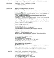 veterinary assistant resume summary ophthalmic technician cover