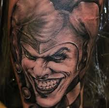 top 10 joker tattoo designs