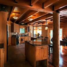 Interior Log Home Pictures Rustic Kitchens Design Ideas Tips U0026 Inspiration