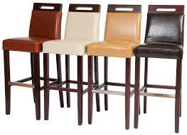 Leather Bar Chair Furniture Bar Stool Breakfast Swivel Bar Stools Barstools With