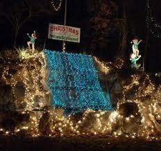 christmas wonderland at rock spring park in alton