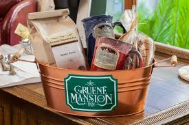coffee baskets gruene mansion inn coffee basket baskets packages gruene