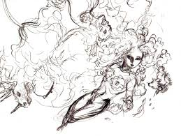 image flower aerith amano sketch jpg final fantasy wiki
