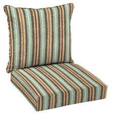 Patio Furniture Seat Cushions Hton Bay Stripe Outdoor Cushions Patio Furniture The