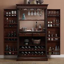 Bar Mirror With Shelves by American Heritage Billiards Angelina Armoire Bar Cabinet With
