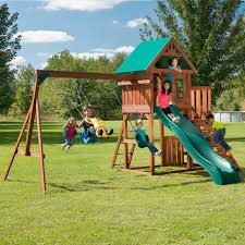 swing n slide jamboree fort play set hayneedle