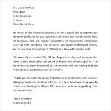 thank you letter for your business the letter sample