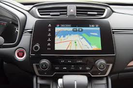 honda crv navigation review comparison test 2017 honda cr v vs 2017 toyota rav4 ny daily