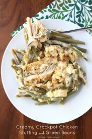 crockpot chicken and green beans family fresh meals