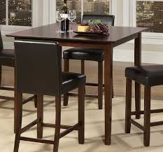 High Table Chairs Plush High Dining Table All Dining Room