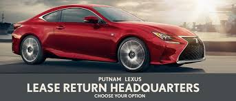 my lexus usa bay area lease return center putnam lexus 888 230 4448