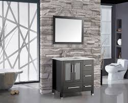 Bobkona St Croix Collection Vanity Set With Stool White Vanity Set With Mirror Mirror Collection Items
