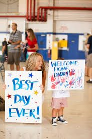 Military Home Decorations by Best 25 Military Homecoming Signs Ideas On Pinterest Homecoming