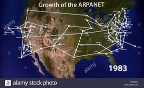 Map Of The Internet Mountain View California Usa 09th Nov 2013 A 1983 Map Of The