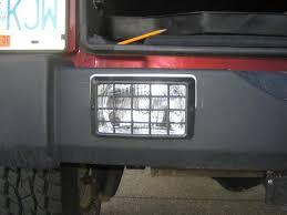 jeep wrangler backup lights installing leveling kit hella 500ffs and custom reverse lights
