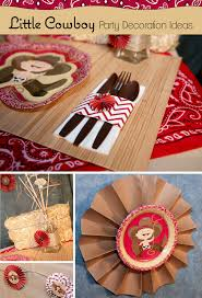 home design little cowboy party ideas big dot of happiness