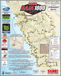 San Jose Convention Center Map by Course Map Unveiled For 49th Annual Score Baja 1000 At Colorful