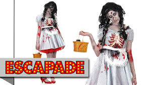 zombie dorothy halloween costume halloween fancy dress costume