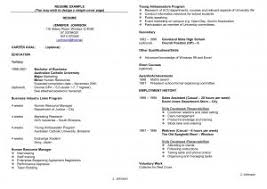Good Resume For Job by Examples Of Resumes Resume Good Objectives Pertaining To 89