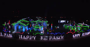 video 2014 fred loya christmas light show in el paso