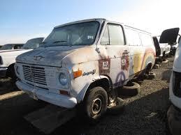 minivan volkswagen hippie junkyard find 1973 chevrolet g30 hippie van