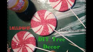 diy lollipop tree ornaments