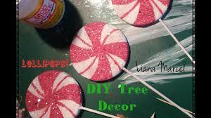 diy lollipop tree ornaments
