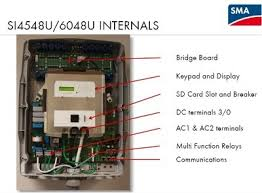 30kw sma sunny island solar battery backup inverter system