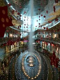 Christmas Decorations For Shopping Centres by Fountain And Christmas Decorations Shopping Centre Porto Nen