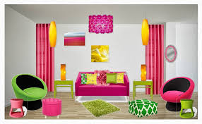 complementary colors pink monticello interior design