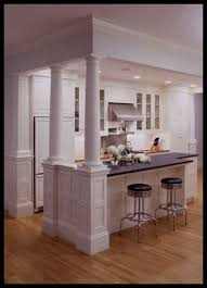 kitchen island columns best 25 kitchen island pillar ideas on kitchen