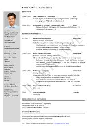 Free Blank Resume Outlines Free Blank Resume Templates Download Resume Examples 2017
