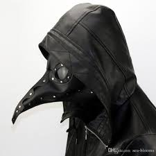 leather plague doctor mask pu leather plague doctor mask steam nose beak mask