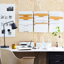 trieur papier bureau idées rangement pour le bureau décoration