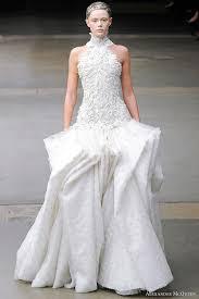 winter wedding dresses 2011 mcqueen fall winter 2011 collection wedding inspirasi