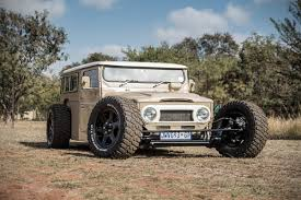 classic land cruiser this land cruiser rod is a one of a kind off road monster maxim