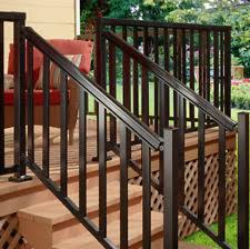Deck Stair Handrail Deck Railing Home U0026 Garden Ebay